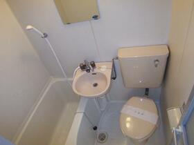 スカイメゾン新松戸 203号室の風呂