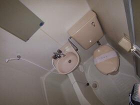 スカイメゾン新松戸 203号室の洗面所