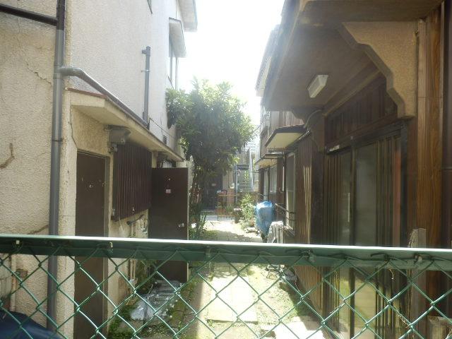 酢田荘 3号室の景色