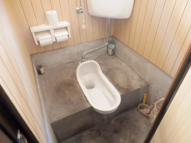 酢田荘 3号室のトイレ