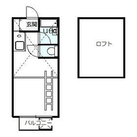 ロイヤル吉祥寺・103号室の間取り