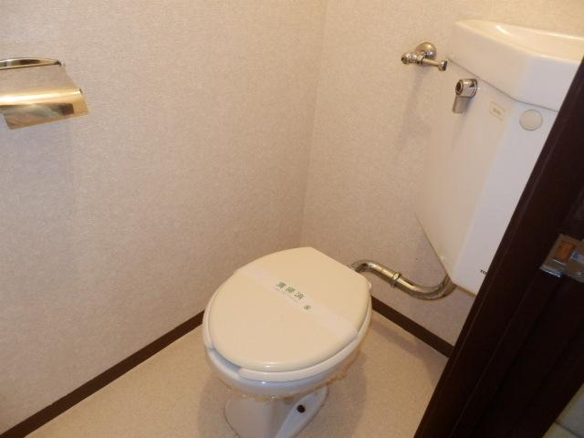 テラスアローニアのトイレ