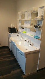 アパートメントシェアハウス氷川台 101号室の洗面所
