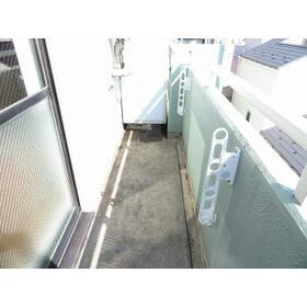 ダイホープラザ桜台 0402号室のバルコニー