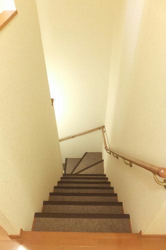 レオパレス新里 212号室のエントランス