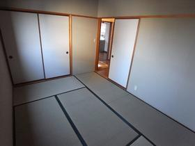 松風荘 102号室のリビング