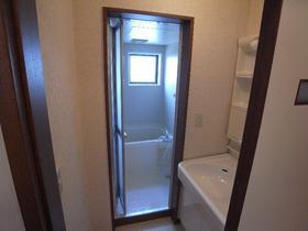 松風荘 102号室の洗面所