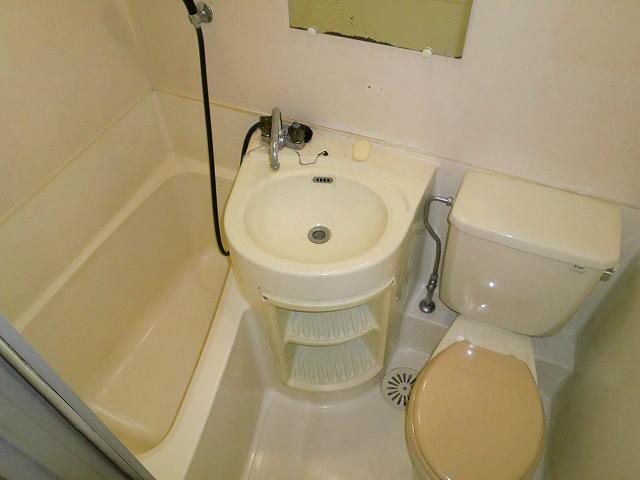 タバサハウス 1号室の風呂