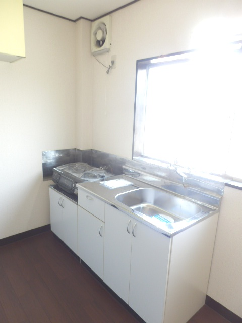 サンテラス藤田 205号室のキッチン