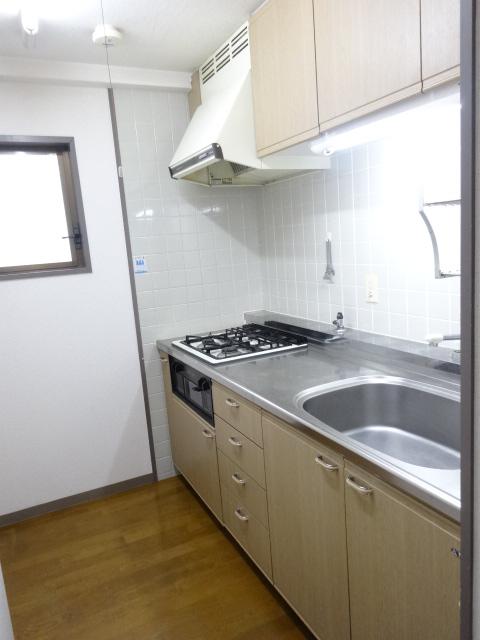 セント・ルークルス 306号室のキッチン