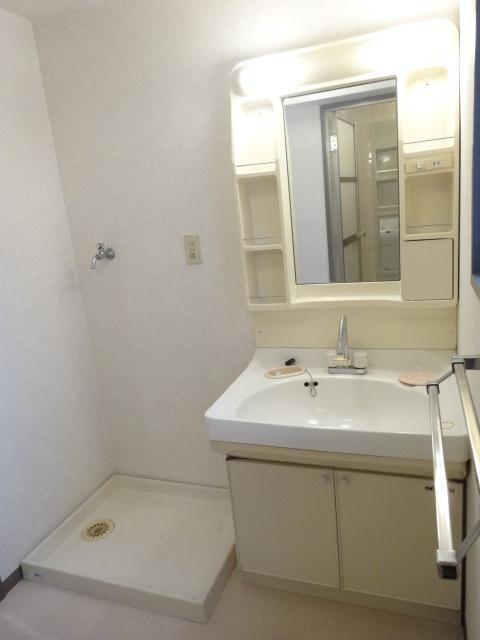 セント・ルークルス 306号室の洗面所