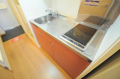 レオパレス豊里Ⅱ 204号室のキッチン