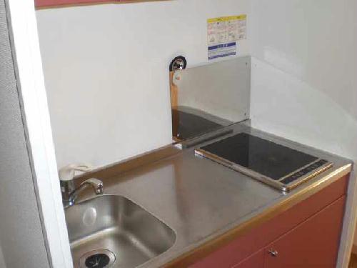 レオパレスノンノ ミーオ 204号室のキッチン