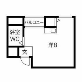 プレアール井高野・306号室の間取り