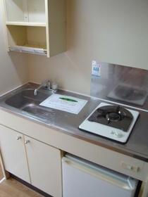 ジオナ柴島Ⅱ 210号室のキッチン