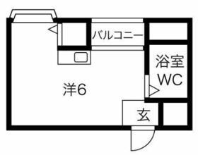 プレアール井高野・305号室の間取り