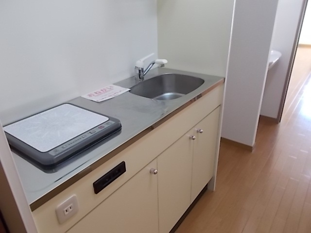 パラス卯兵衛 04020号室のキッチン