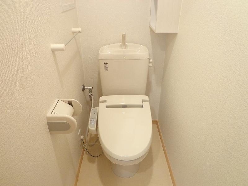 メゾンドシャンテール 02030号室のトイレ