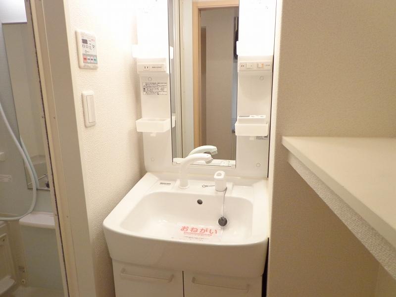 メゾンドシャンテール 02030号室の洗面所