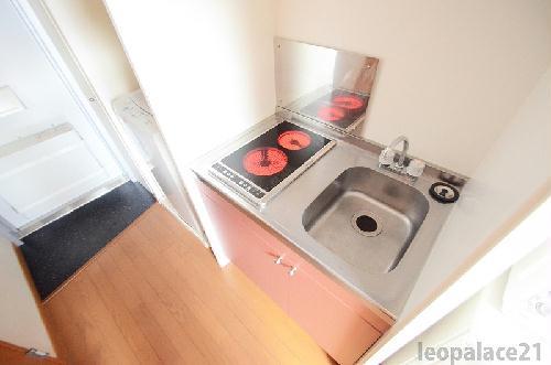 レオパレスKアンドS 203号室のキッチン