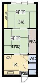 東江ハイツA棟外観写真