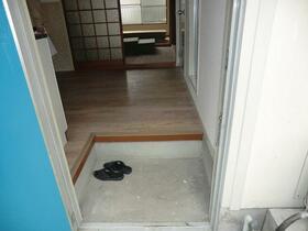 東江ハイツB棟 203号室の玄関