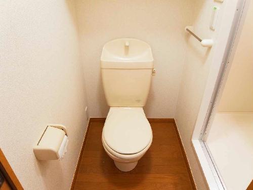 レオパレス藤が丘2番館 205号室のトイレ