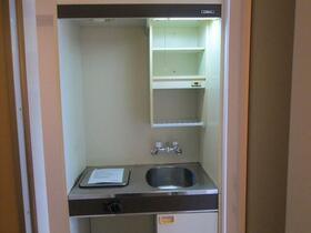 プレアール野中 401号室のキッチン