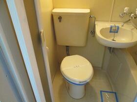 プレアール野中 401号室のトイレ