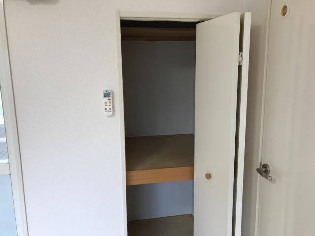 フォレストヴィラ 201号室の収納
