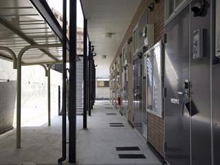 レオパレス山田東Ⅱ 105号室のエントランス