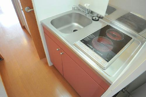 レオパレス山田東Ⅱ 105号室のキッチン