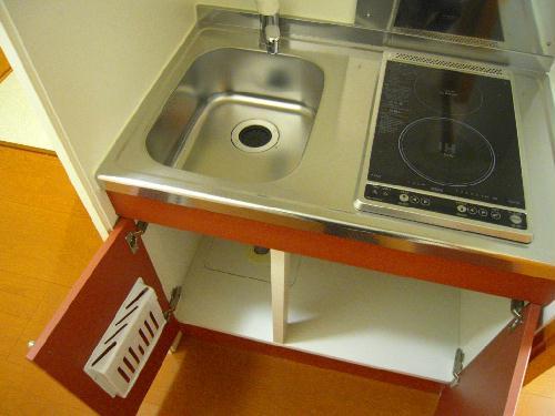 レオパレスプレズィール 101号室のキッチン