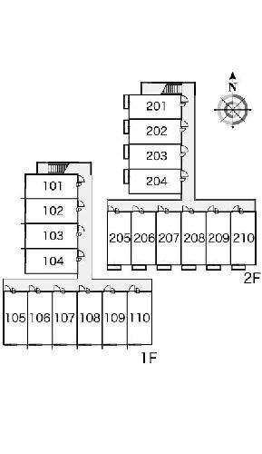 レオパレスエスポワール 205号室のその他