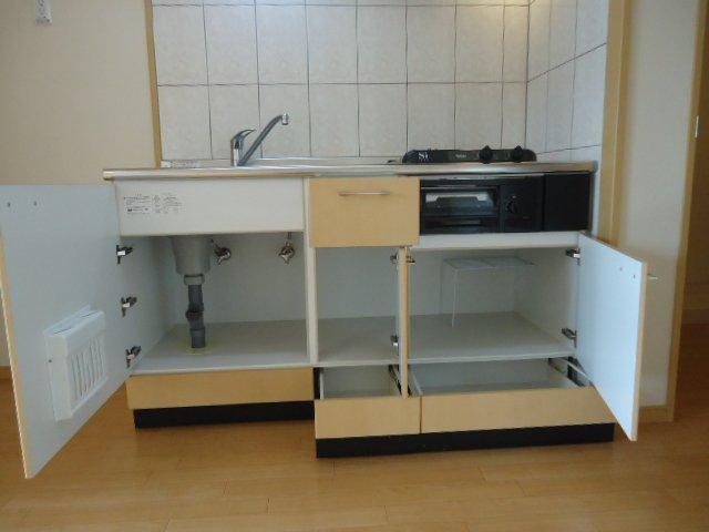 Grace 202号室のキッチン