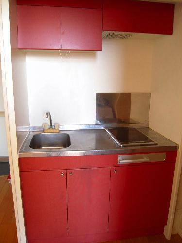 レオパレスケイツハイムC 102号室のキッチン