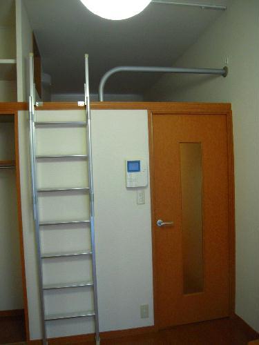 レオパレスエバーグリーン 201号室のセキュリティ