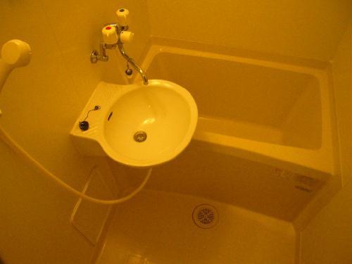 レオパレスエバーグリーン 201号室の風呂