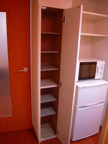 レオパレスエバーグリーン 201号室の玄関