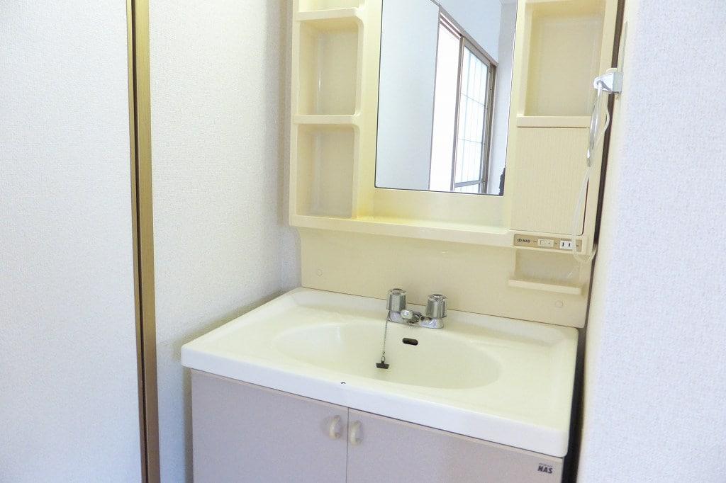 パルテール 01010号室の洗面所