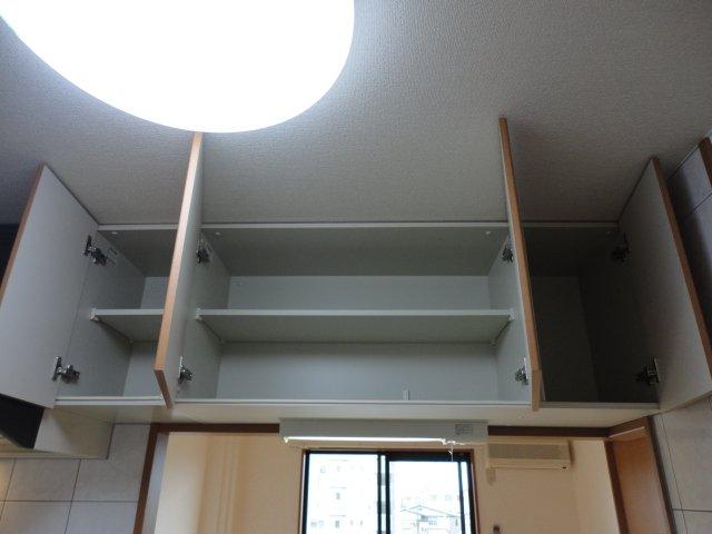 グランディール星の宮 201号室の収納