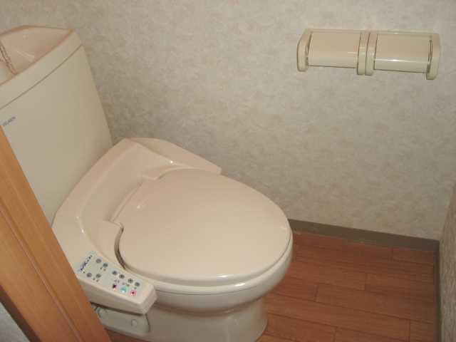 グランディール星の宮 201号室のトイレ