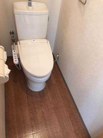 サニーコート.F 202号室のトイレ