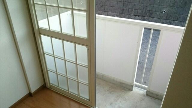 シェーネ ホフ Ι 01030号室のバルコニー