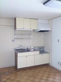メゾン兎平 305号室のキッチン