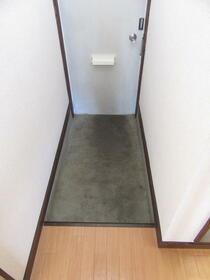 サンラインコーポ B-7号室の玄関