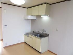 サンラインコーポ B-7号室のキッチン