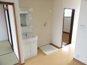 サンラインコーポ B-7号室の洗面所
