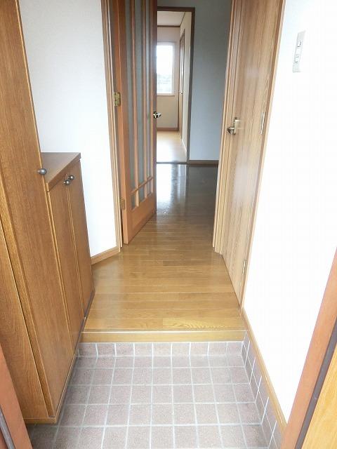 ジャルディーノ・K 01030号室の玄関