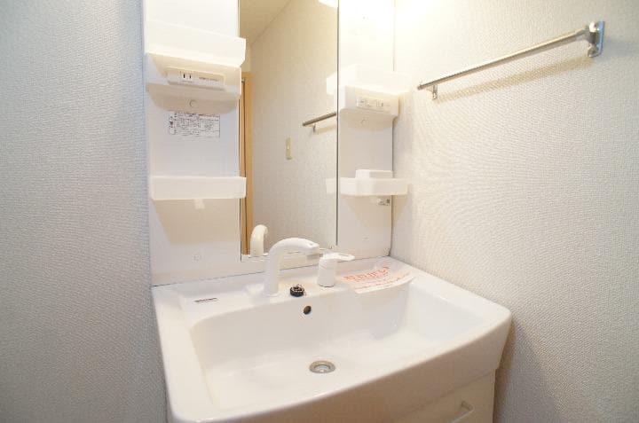 グランシェーヌ 02020号室の洗面所